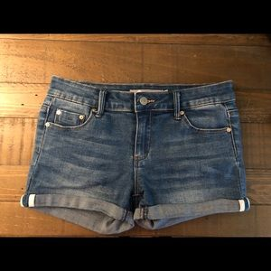 Girls denim Tractr shorts